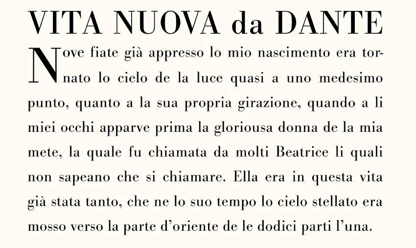 Tipografías de Giambattista Bodoni.