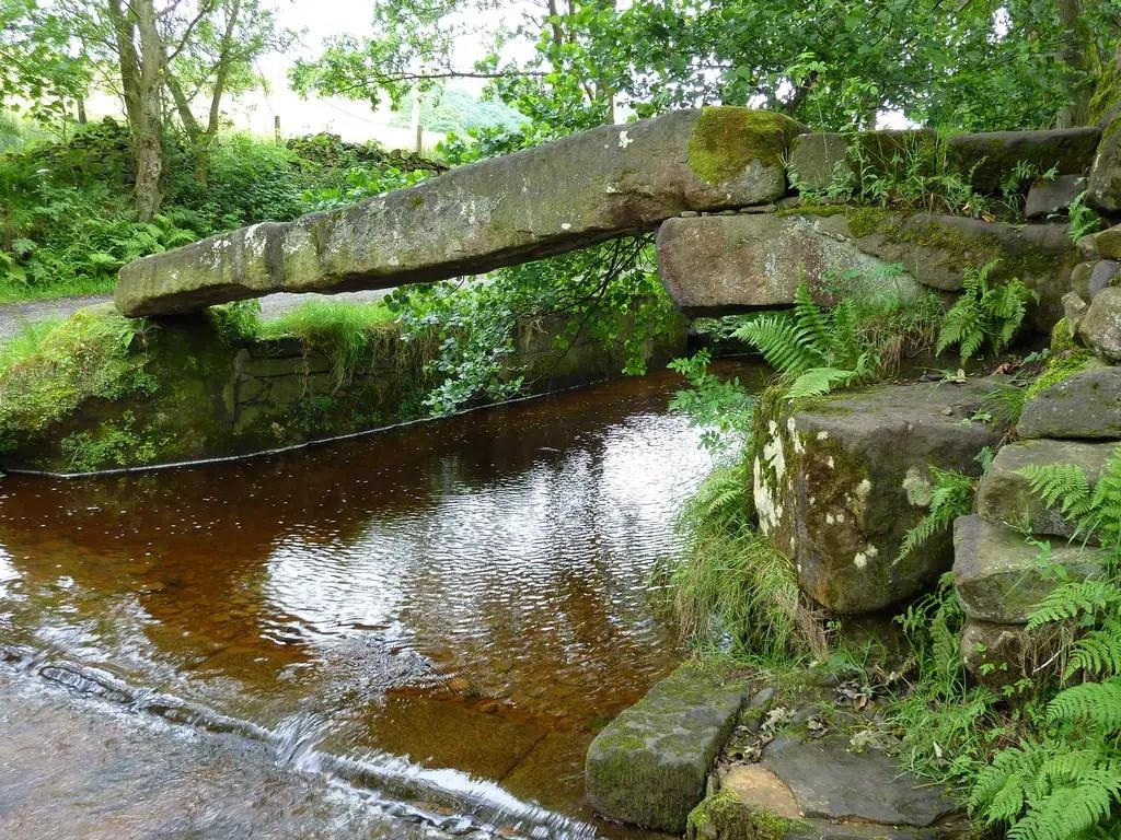 Fotografía del Clam Bridge, el punte más viejo del mundo.