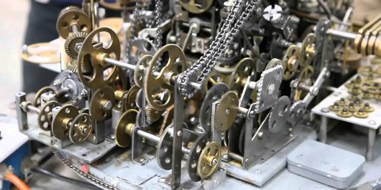 Máquinas de no hacer nada, las complejas máquinas que no hacen nada