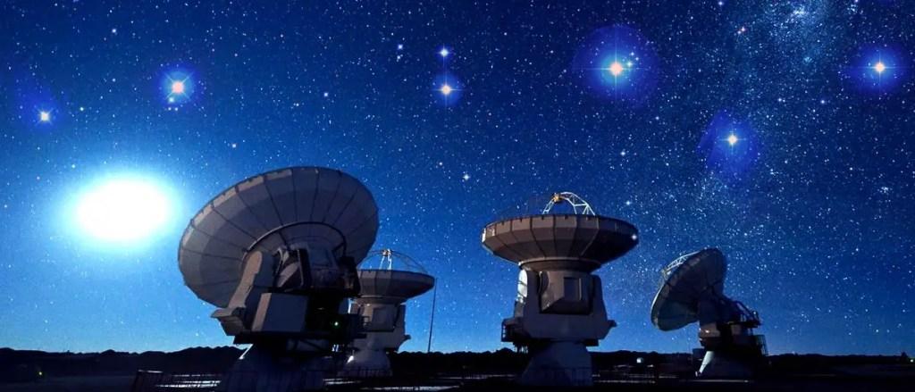 Arreglo de radiotelescopios