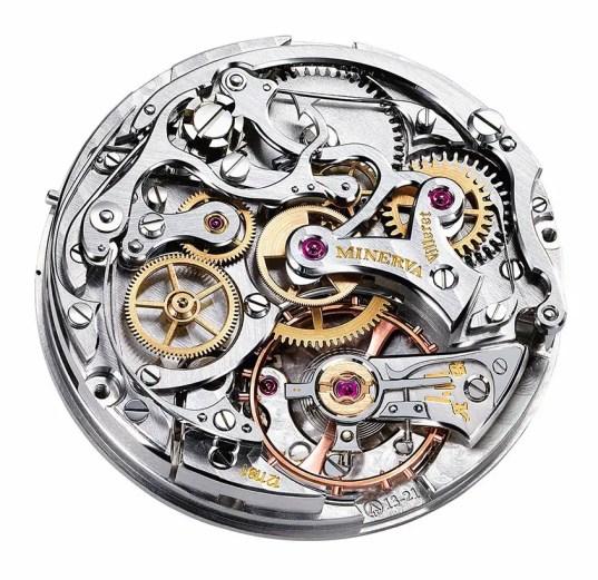 Mecanismo de reloj Minerva.