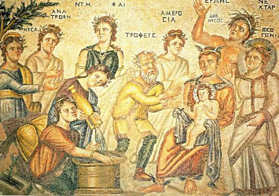 Mosaico romano de Pafos, un documento sobre la historia de la miel.