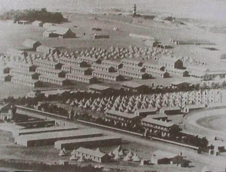 Campo de concentración británico. El primer campo de concentración en la Historia.