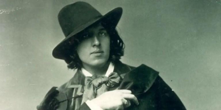 El escritor inglés Oscar Wilde.