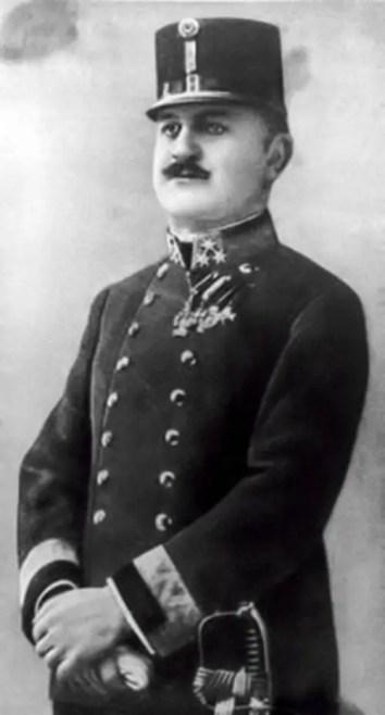 Fotografía de Alfred Redl, considerado como el peor traidor en toda la Historia