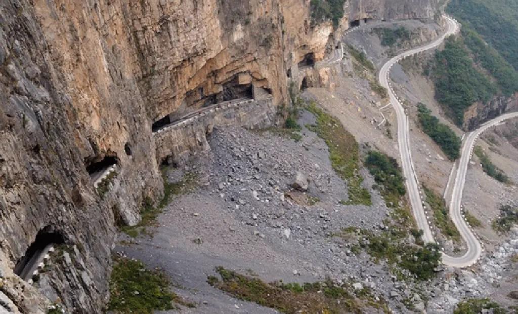 El tunel de Guoliang.