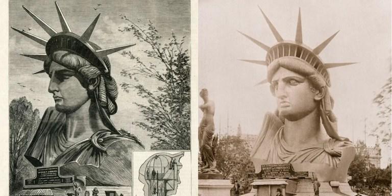 Cómo se construyó la Estatua de la Libertad y cómo es por dentro