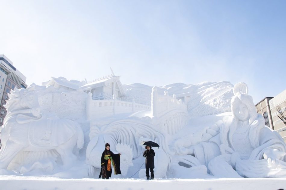 Festival de la nieve de Sapporo.