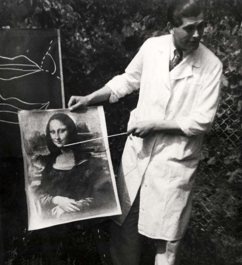 La sonrisa de la Monalisa era utilizada como ejemplo para sonreír.