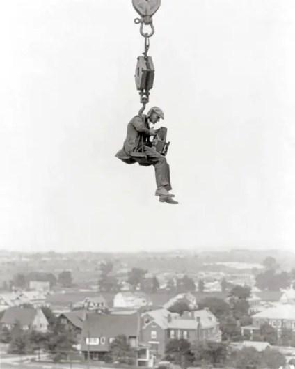 Fotografía aérea antigua.