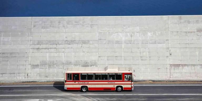 Las colosales murallas anti-tsunami que está construyendo Japón