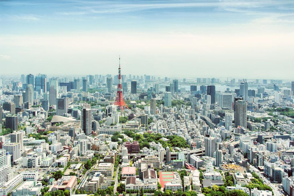 Tokyo HDR.