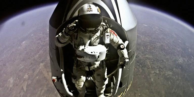 Joseph Kittinger y  Felix Baumgartner los paracaidistas récord