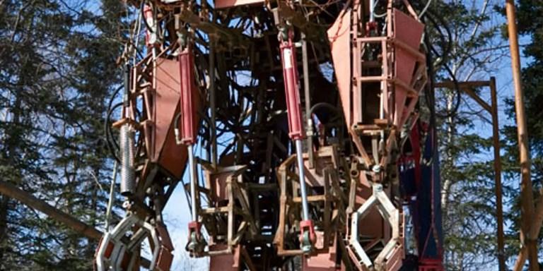 Los Transformes y Mechas reales. Vehículos robot gigantes que existen