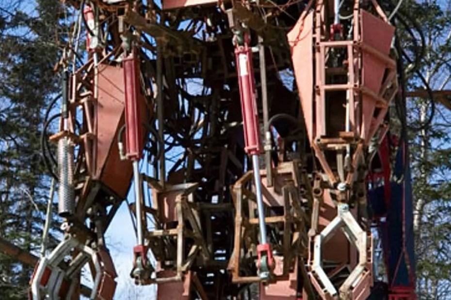 Fotografía del robot NMX04-1A.