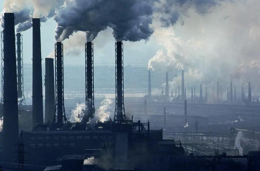 Las chimeneas de Magnitogorsk.