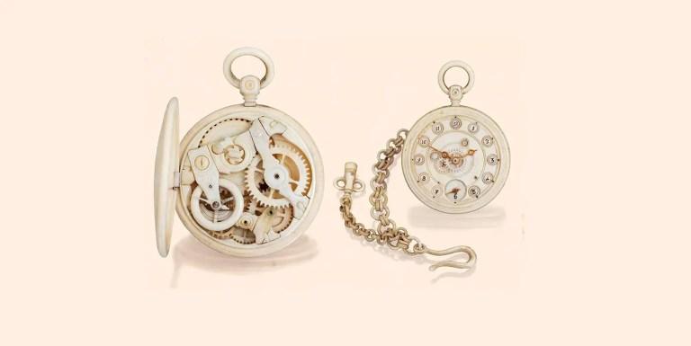 Los increíbles relojes hechos con huesos de la familia Bronnikov