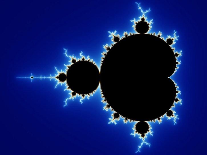 Imagen del conjunto Mandelbrot, el fractal más famoso de las matemáticas.