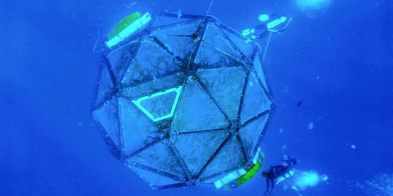 Las granjas submarinas de alta tecnología que cambiarán al mundo