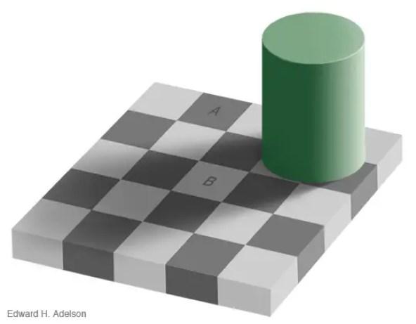 Ejemplo de la ilusión óptica de Aldelson.