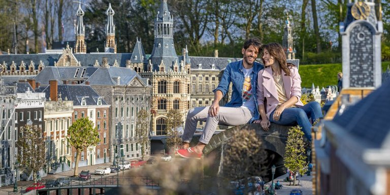La increíble ciudad miniatura de Madurodam en Holanda