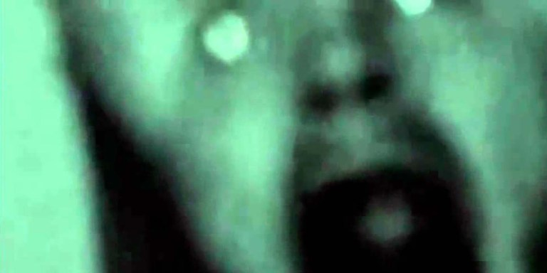 Aphex Twin, Rubber Johhny alien face.