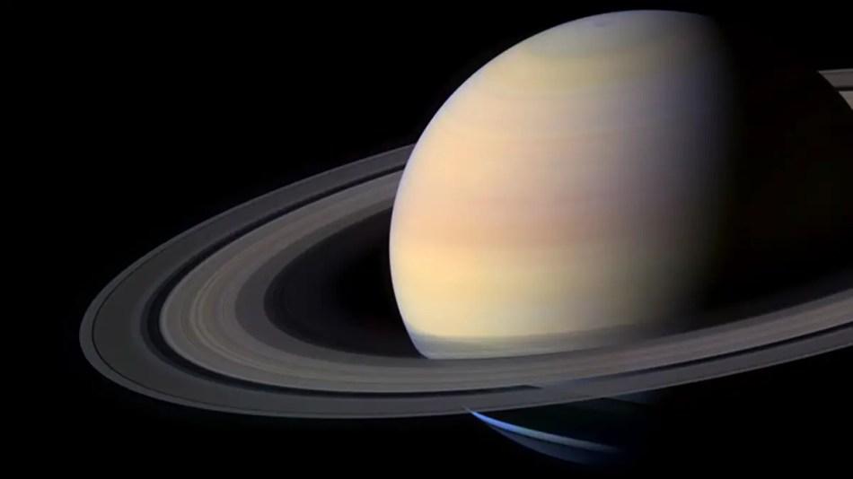 Vista de Saturno.