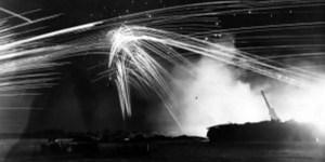 Disparos al aire durante la Batalla de Los Ángeles.