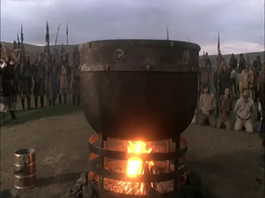 Caldero mongol
