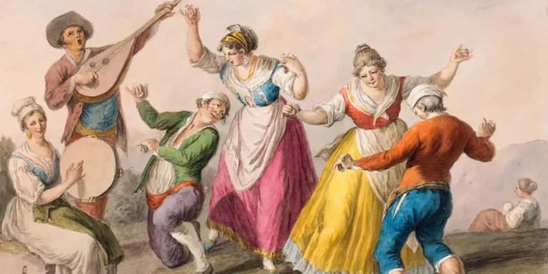La misteriosa plaga de la danza medieval, la Danza de San Juan