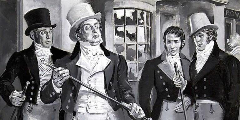George 'Beau' Brummell, el dandy más vanidoso en la Historia