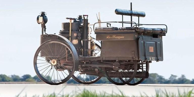 El automóvil más viejo del mundo que aun funciona, impulsado a carbón