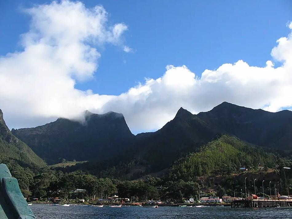 Isla Juan Fernández.