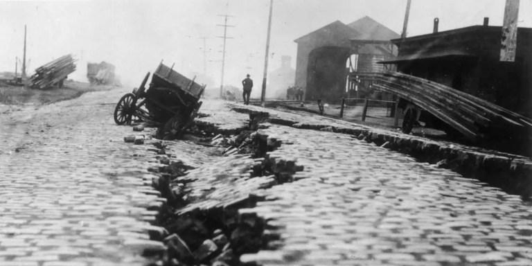 San Francisco antes y después del terremoto de 1906