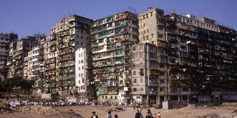 Kowloon, la ciudad más densa y sobrepoblada en la Historia