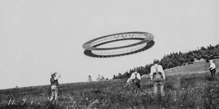 Las colosales cometas tetrahédricas de Alexander Graham Bell