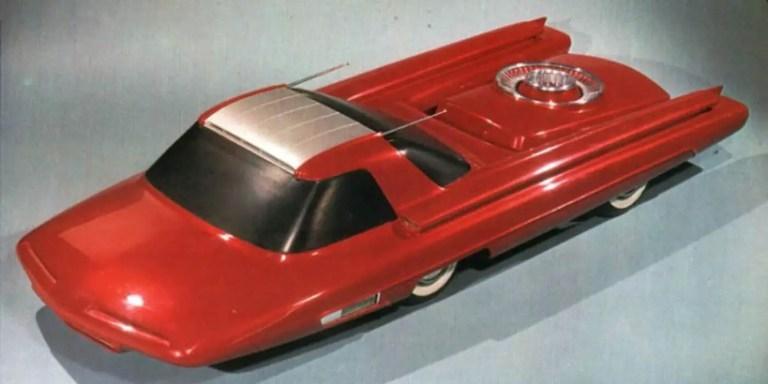 Ford Nucleon, el automóvil alimentado por un reactor nuclear