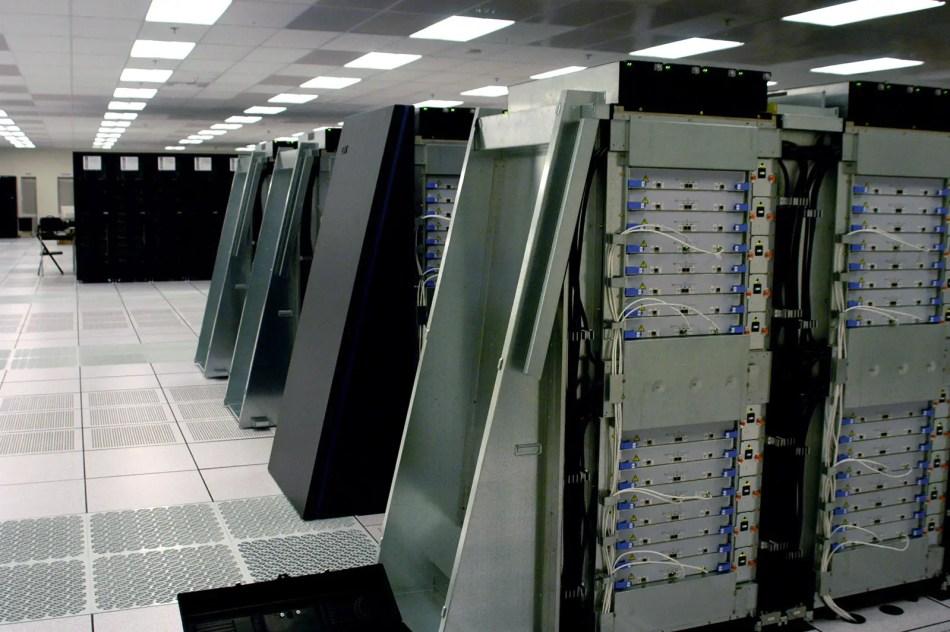 IBM BlueGene/L, el superordenador más poderoso en el año 2005.