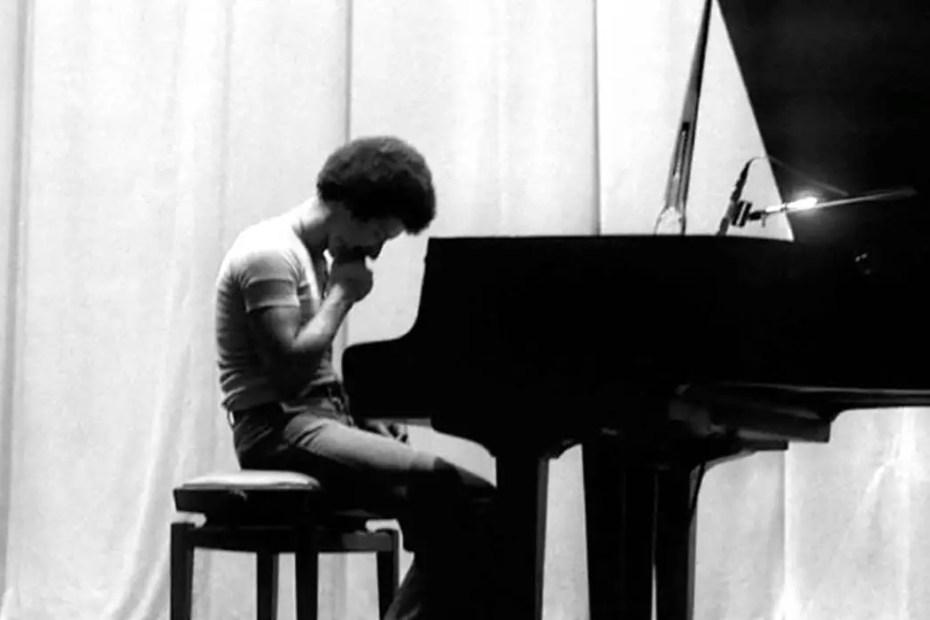 Keith Jarrett en concierto.