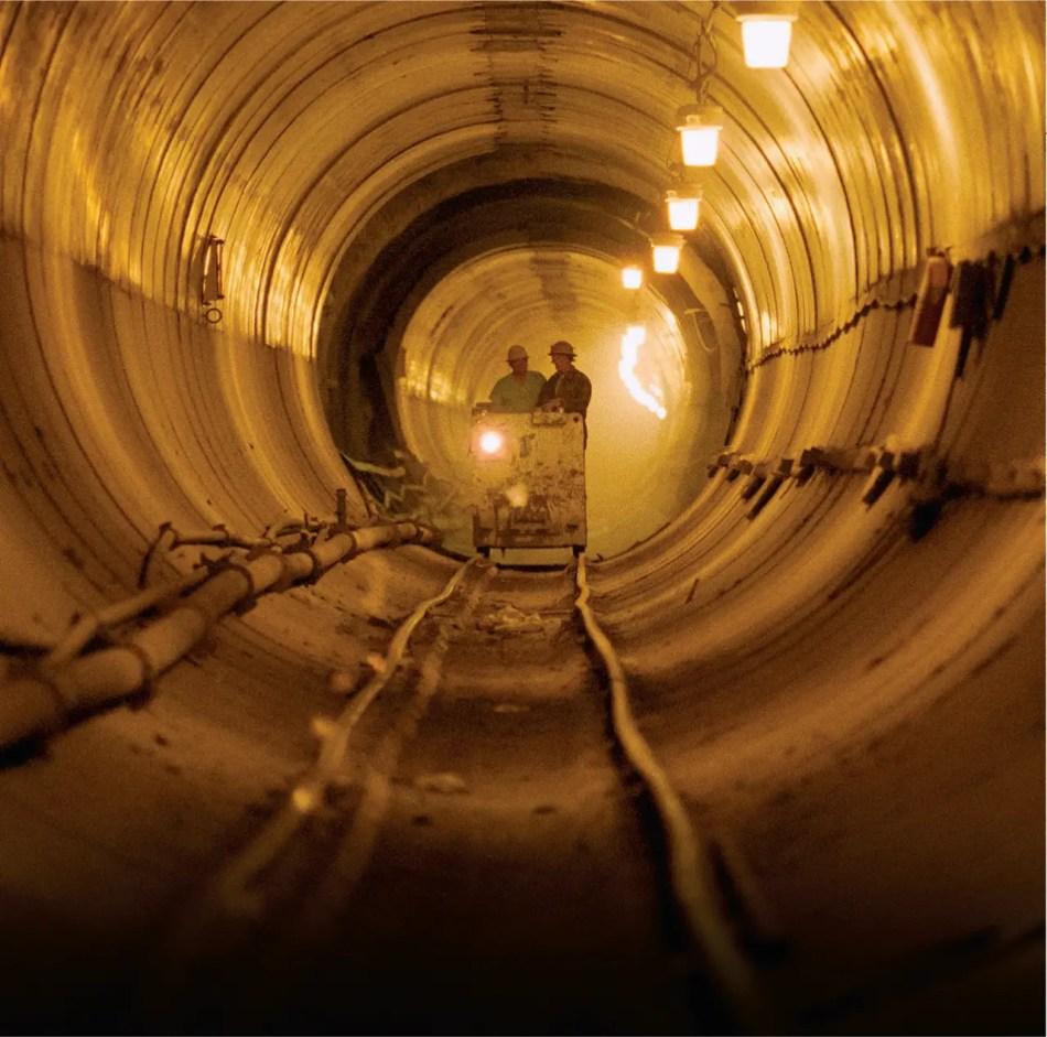 Túneles internos de ingeniería.
