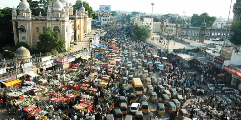 El caótico tráfico de la India, los peores atascamientos del mundo