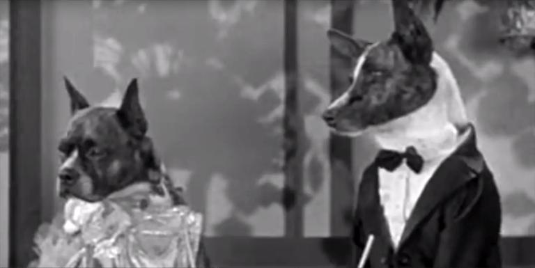 Las películas con perros de los años treinta de Dogville Shorts