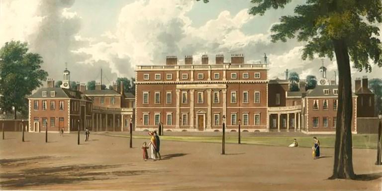 Arquitectura ilustrada: La Historia de las Residencias Reales (1819)