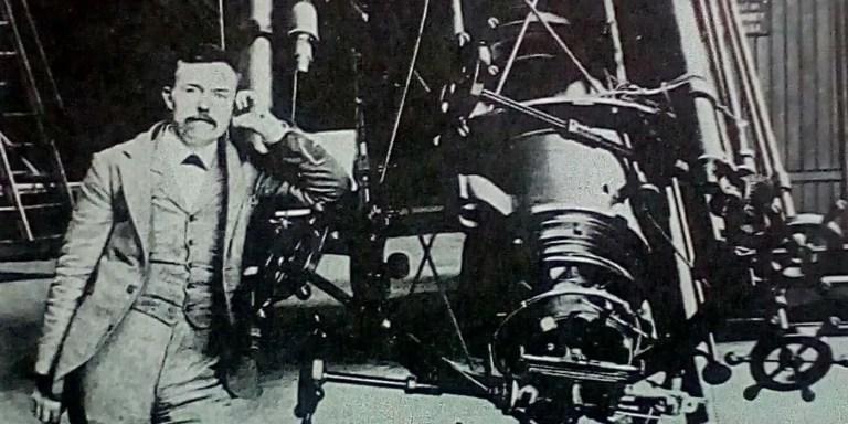 Edward «ojos de águila» Barnard, un astrónomo con buena vista