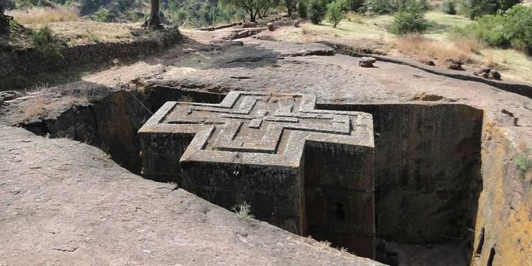 Beta Giyorgis, el misterioso edificio construído en un pozo del siglo XIII