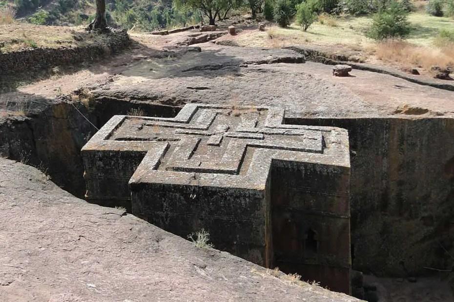 Construido durante el siglo XIII Beta Giyorgis es uno de los templos más misteriosos y llamativos del planeta tierra.