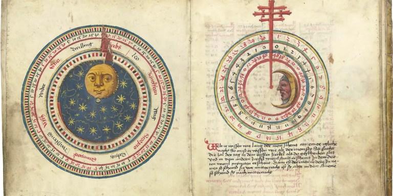 Calendario medieval y el significado nombre de los días.
