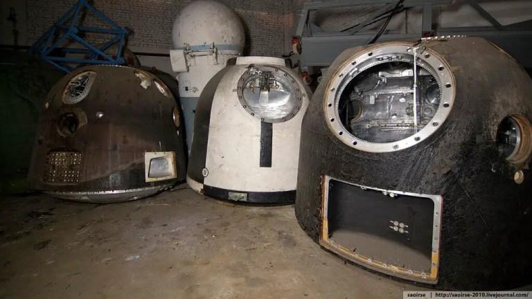 Un cementerio soviético de cápsulas espaciales hallado por casualidad