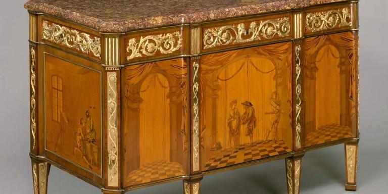 Los increíbles muebles mecánicos de la realeza francesa del siglo XVI