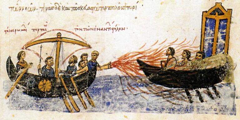 El fuego griego, el arma más enigmática y brutal de la historia